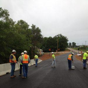 Men Working on pavement