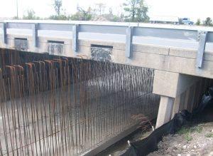 Morehouse bridge work