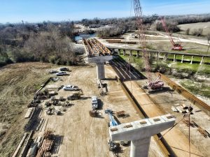 bridge drone image