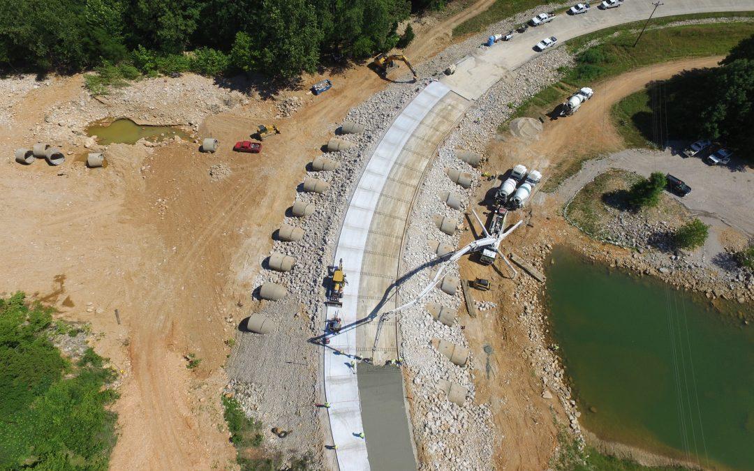 Emergency Spillway Repair