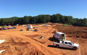 Echo Bluff Sewer Grading